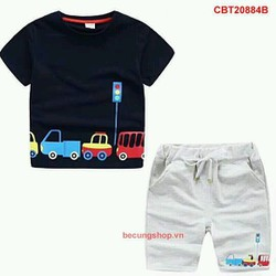 Bộ áo xe hơi cho bé 10th-8 tuổi