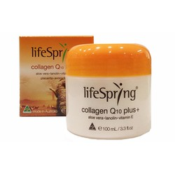 Kem nhau thai cừu Lifespring Collagen Q10 Plus 100ml
