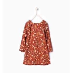 Váy dài tay bé gái - Hàng nhập Tây Ban Nha