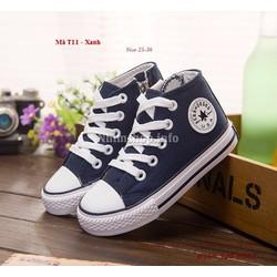 Giày cổ cao cho bé 3 - 12 tuổi T11 khỏe khoắn và năng động