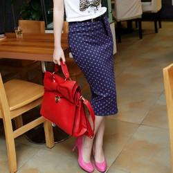 hàng nhập chân váy chấm bi CV07