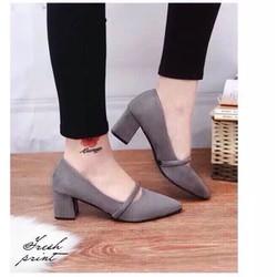 Giày đế cao 5p