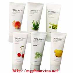 Sữa rửa mặt the face shop Herb 365 Day Cleansing Foam