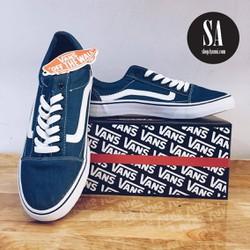 Giày thể thao nam màu xanh dương
