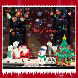 Decal trang trí Giáng Sinh-Noel 2