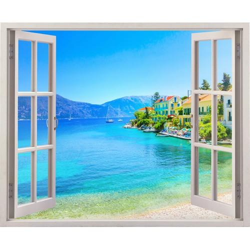 Tranh dán tường cửa sổ 3D cảnh đẹp thiên nhiên VTC VT0244 - 4063554 , 4032430 , 15_4032430 , 219000 , Tranh-dan-tuong-cua-so-3D-canh-dep-thien-nhien-VTC-VT0244-15_4032430 , sendo.vn , Tranh dán tường cửa sổ 3D cảnh đẹp thiên nhiên VTC VT0244