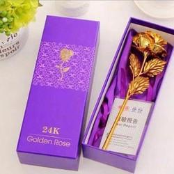 Hoa Hồng 3D Mạ Vàng HH3
