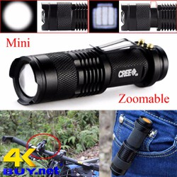 Đèn pin Gree Ultrafire mini Q5 có pin