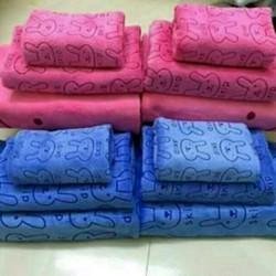 Combo 5 bộ sét 3 khăn tắm Thái