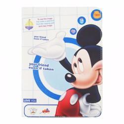 Bao da iPad Air 2 hiệu Dilian họa tiết Chuột Mickey version 3