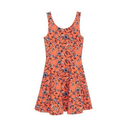 Váy ba lỗ họa tiết cam - Hàng nhập Mỹ