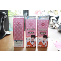 Kem dưỡng Whitening Sunscreen Cathy Doll SPF 50