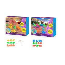 Bộ chơi cát tạo hình các loại khủng long và các loại động vật