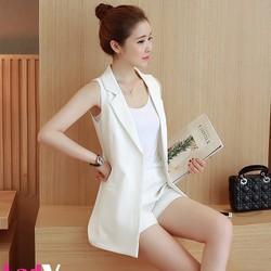 Áo vest nữ không tay sành điệu và cá tính AK01