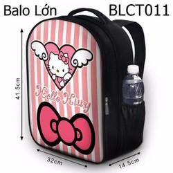 Balo Học sinh - Teen Hello Kitty và trái tim - VBLCT011