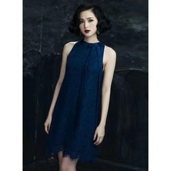 Đầm ren suông phối nơ cổ thời trang - TP205-914