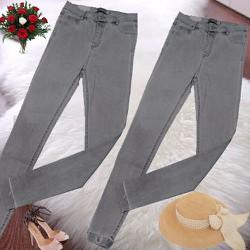 quần legging giả jean thời trang