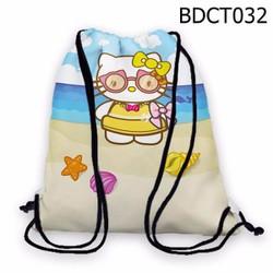 Balo dây rút - Túi rút dễ thương Hello Kitty - VBDCT032