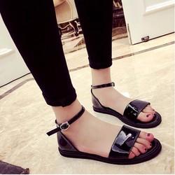 Koin - Giày sandals quai ngang da bóng SDQN36 - bảo hành 12 tháng