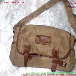 Túi đeo đi học đi chơi vải nhung mềm mại đáng iu TDHDC16