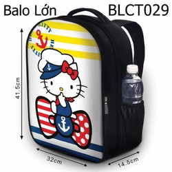 Balo Ipad - Học thêm - Đi chơi Hello Kitty thủy thủ - SBLCT029