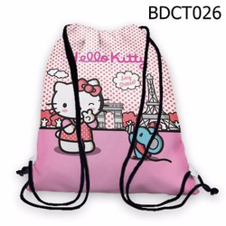 Balo dây rút - Túi rút dễ thương Hello Kitty - VBDCT026