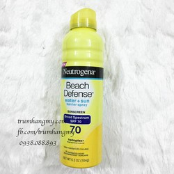Kem chống nắng Neutrogena Beach Defence SPF70
