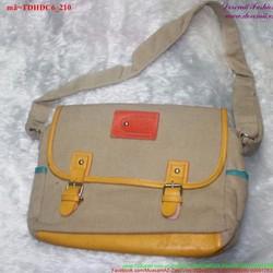 Túi đeo đi học đi chơi vải bổ bụi bặm năng động TDHDC6
