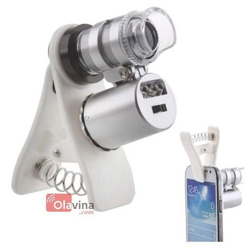 Kính lúp 60x có đèn kẹp điện thoại - 4050328 , 3849670 , 15_3849670 , 150000 , Kinh-lup-60x-co-den-kep-dien-thoai-15_3849670 , sendo.vn , Kính lúp 60x có đèn kẹp điện thoại