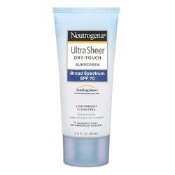 Kem chống nắng Neutrogena Ultra Sheer Dry-Touch SPF70 88ml