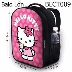 Balo Ipad - Học thêm - Đi chơi Hello Kitty cầm hoa - SBLCT009