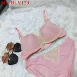Bộ đồ lót nữ hàng nhập khẩu chất liệu mút mềm DLV120