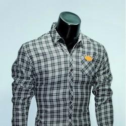 Chuyên sỉ lẻ áo sơ mi cotton nam nữ Facioshop SA293