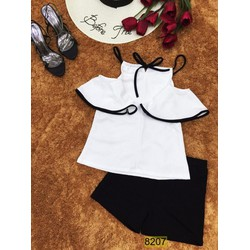 Set áo yếm và quần short