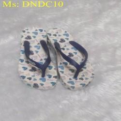 Dép kẹp nữ kẹp hình trái tim , chất liệu dẻo bền DNDC10