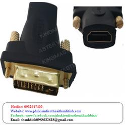 ĐẦU ĐỔI HDMI L SANG CỔNG DVI 24+1 K Y-A 007