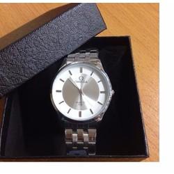 Đồng hồ nam Omega-dây inox S2 box