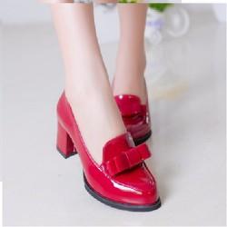 Giày cao gót nữ thời trang, thiết kế trẻ trung, màu sắc thanh lịch