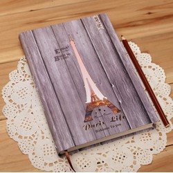 SỔ TAY NOTEBOOK VINTAGE PARIS EIFFEL TOWER