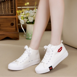 Giày sneaker nữ cổ cao HNP GN059