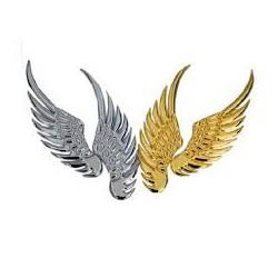 Đôi cánh thiên thần 3D dán trang trí logo hãng ô tô
