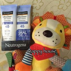 kem chống nằng neutrogena dry touch spf 45