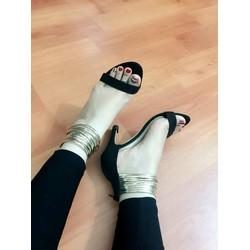 Giày cao gót choàng cổ sành điệu