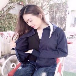 Áo khoac nắng đơn giản xinh xắn