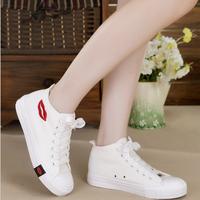 Giày thể thao nữ kiểu converse cổ cao GN058
