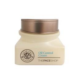 Kem dưỡng da trị mụn Clean Face Oil-Free Control Cream TheFaceShop