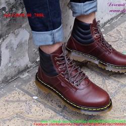 Giày Doctor nam cổ cao mẫu mới sành điệu cá tính GDOC40