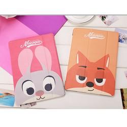 Bao da thỏ Judy cáo Nick iPad Mini 1 2 3 4 iPad Air Air2