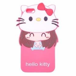 Ốp lưng dẻo Hello Kitty cho IPhone 5,5S