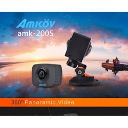 Camera Thể Thao Hành Trình 960P Quay 360° Amkov AMK200S
